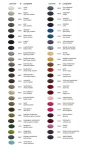 Click to view Icelandic Wool color chart