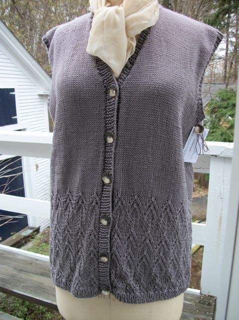 Womens Cotton Lace Cardigan Vest Buddie Sweaters